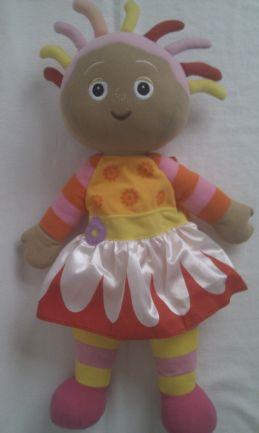 Adorable Big My 1st 'Upsy Daisy' Backpack In the Night Garden Plush